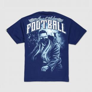 US057 Football tshirt navy