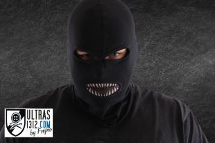 Balaclava with mouth net- teeth