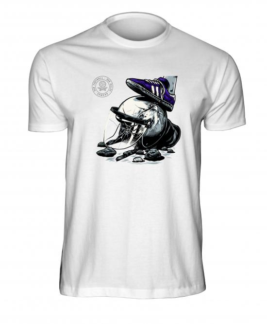 USW081 These colors don`t run /purple- white