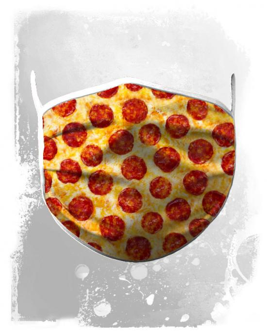 Face mask pizza