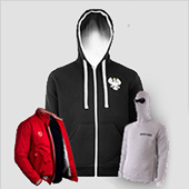 Hoodies, jackets, shorts and more outerwear to customize